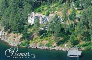 15 Acre Lakefront Estate on Lake Coeur d'Alene
