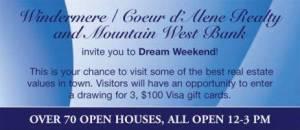 Dream Weekend Open House