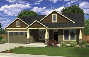 Open house this sunday brand new craftsman home randy for New craftsman homes for sale