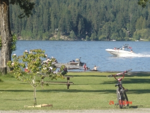 Hauser Lakefront with Boat Dock & Beach