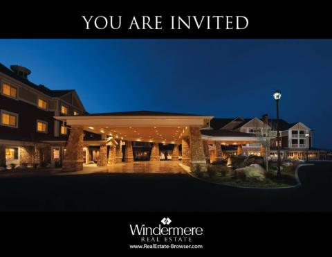 Please Join Us For Lunch Oetkens Presenting The Windermere Market Review For 2011 Real Estate