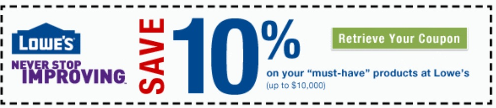 Lowes carpet discount coupon